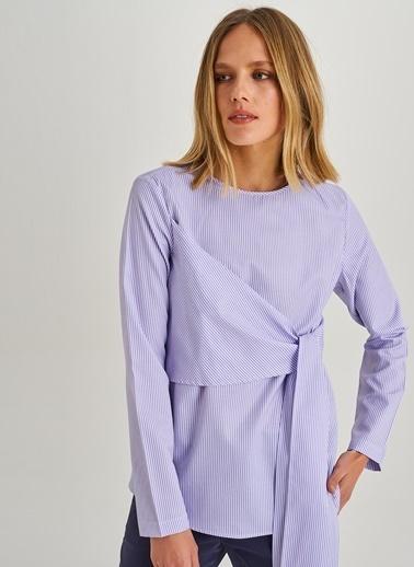 Bağlama Detaylı Gömlek-People By Fabrika